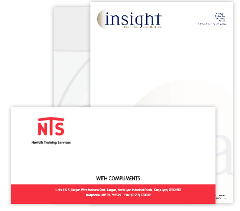 Compliment Slips and Letterheads